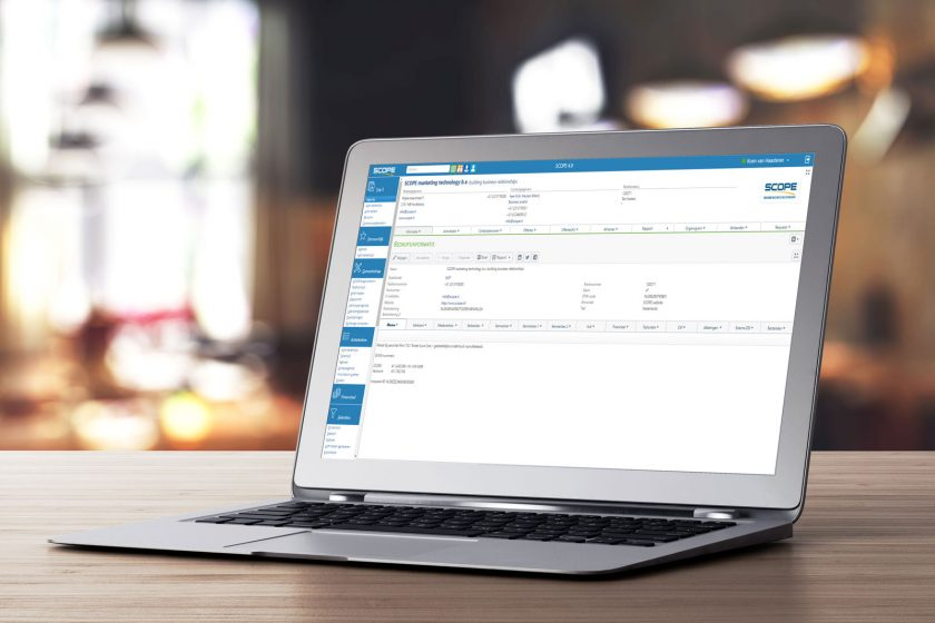 SCOPE CRM demo aanvragen